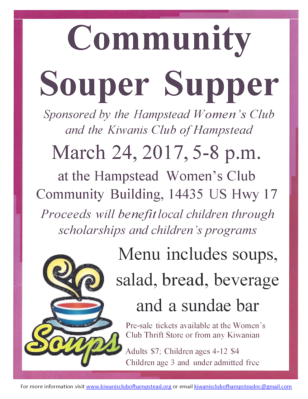 2016 Souper Supper