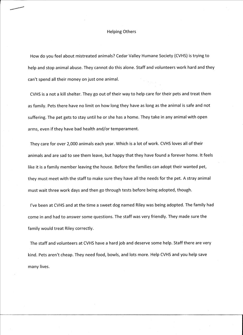 animal shelter proposal essay The shelter will educate a potential owner as to the needs of the dog (no kids, other dogs, etc), but they will not place an animal if there is a chance the animal could do harm in the event it escapes.