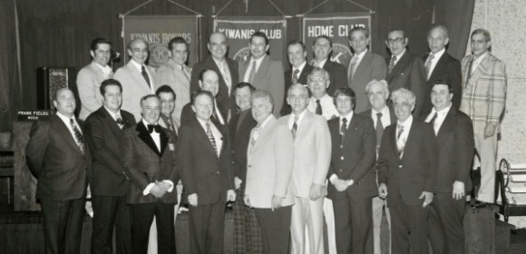 Charter Member Hon. Arthur M. Cromarty pictured here 6th from the end on the top row.