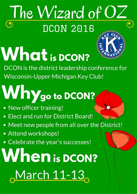 Key Club DCON Flyer!