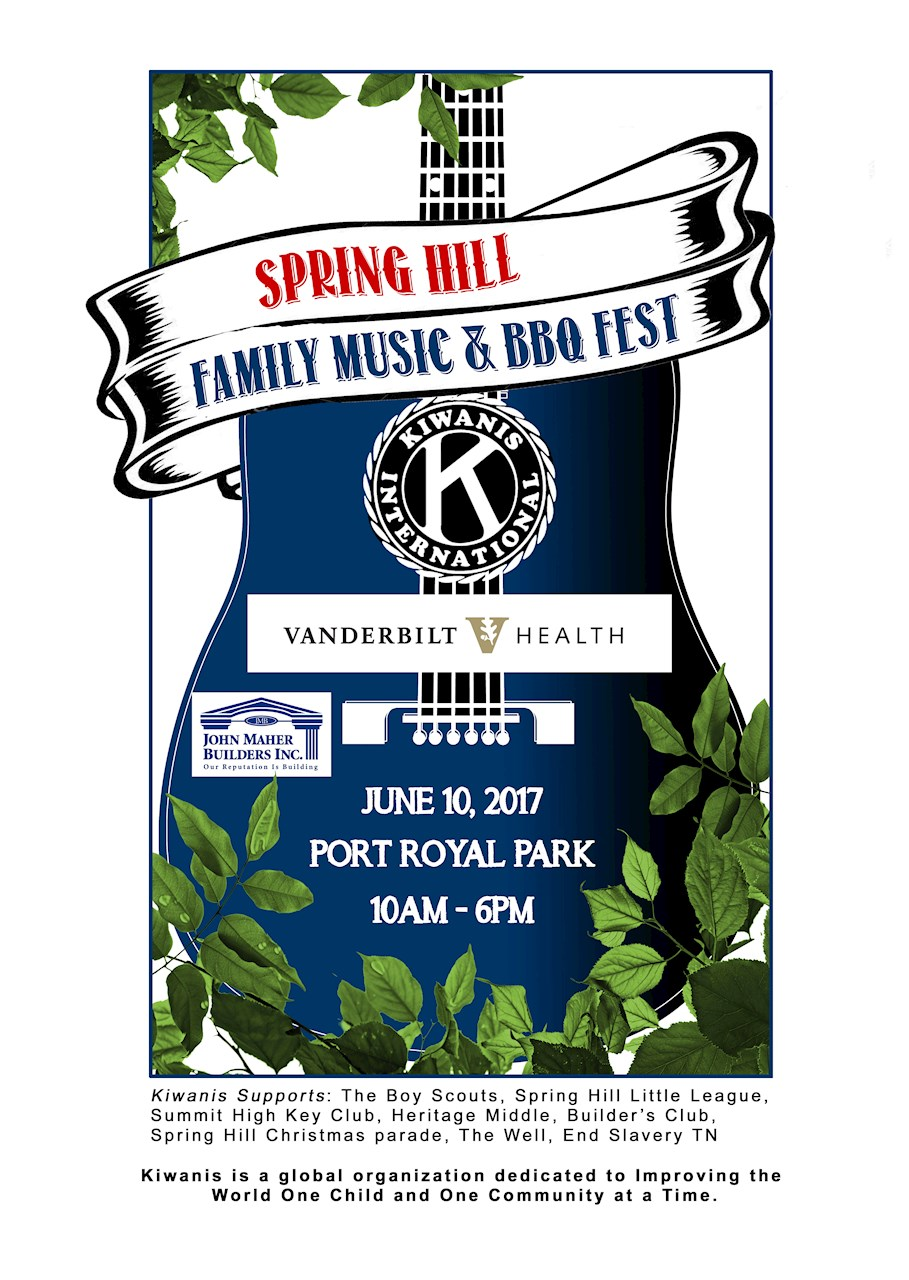 Spring Hill Family Music And BBQ Fest