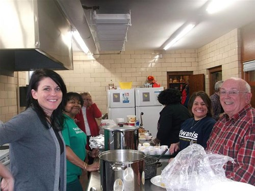 Volunteering at New Life International Soup Kitchen