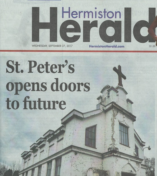 Hermiston Herald September 27, 2017 -- St Peter's Open House
