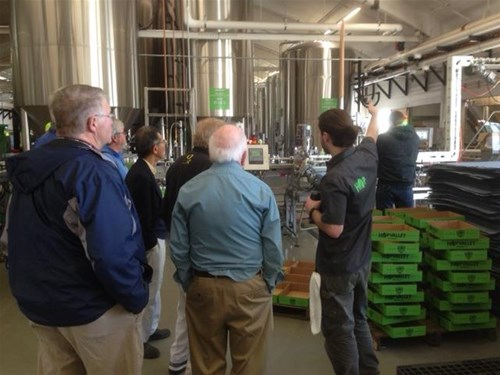 Offsite tour:  Hop Valley Brewery in Eugene