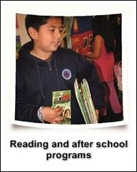 Reading and After School Programs