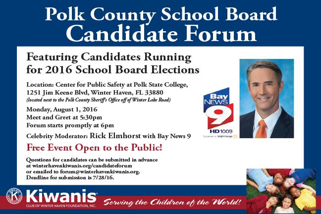 Polk School Board Candidate Forum   Greater Winter Haven ...