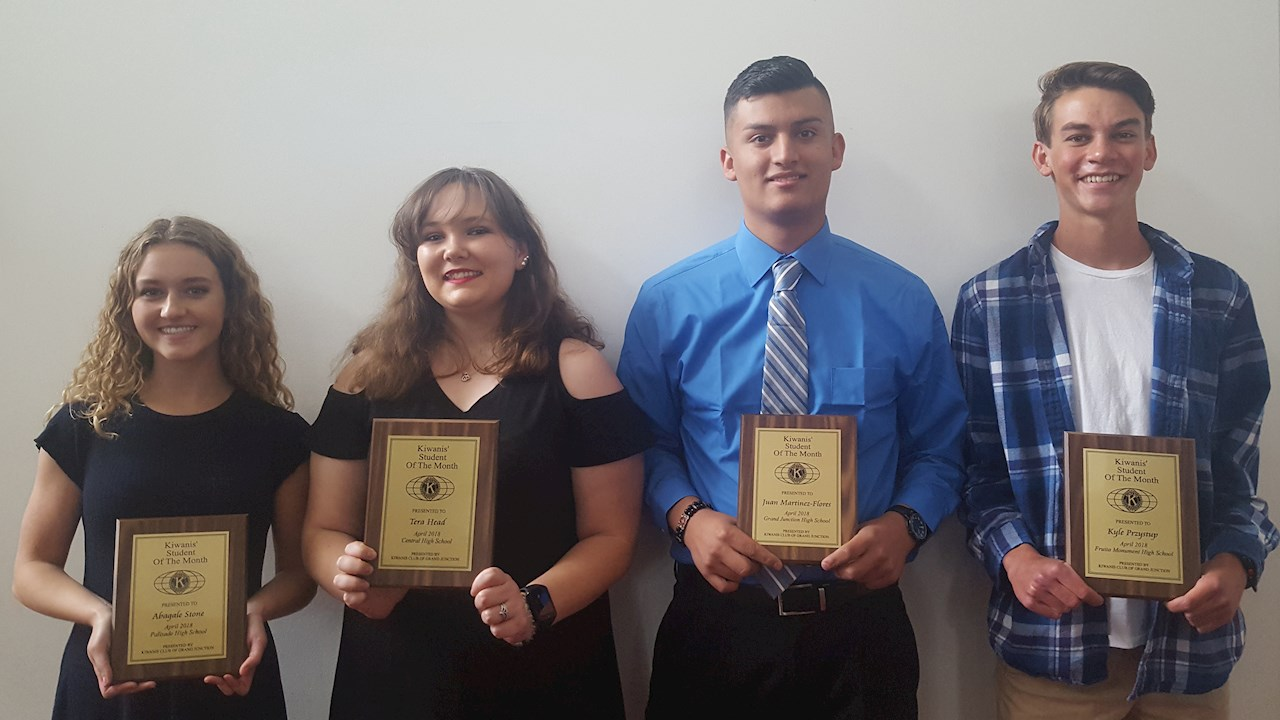 congrats to april students of the month