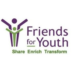 Friends for Youth Logo-Share, Enrigh, Transform