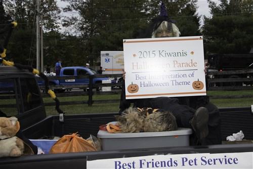 Best Friends Pet Service--Best Interpretation of Halloween Theme
