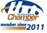 The Peoria Area Chamber of Commerce member since 2011