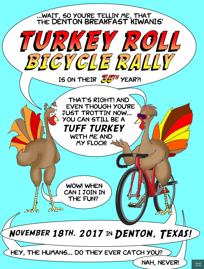 2017 Turkey Roll Bicycle Rally