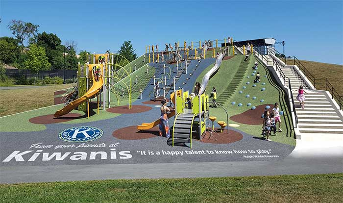 Proposed Kiwanis Playground - Capital Fundrasing Campaign underway!