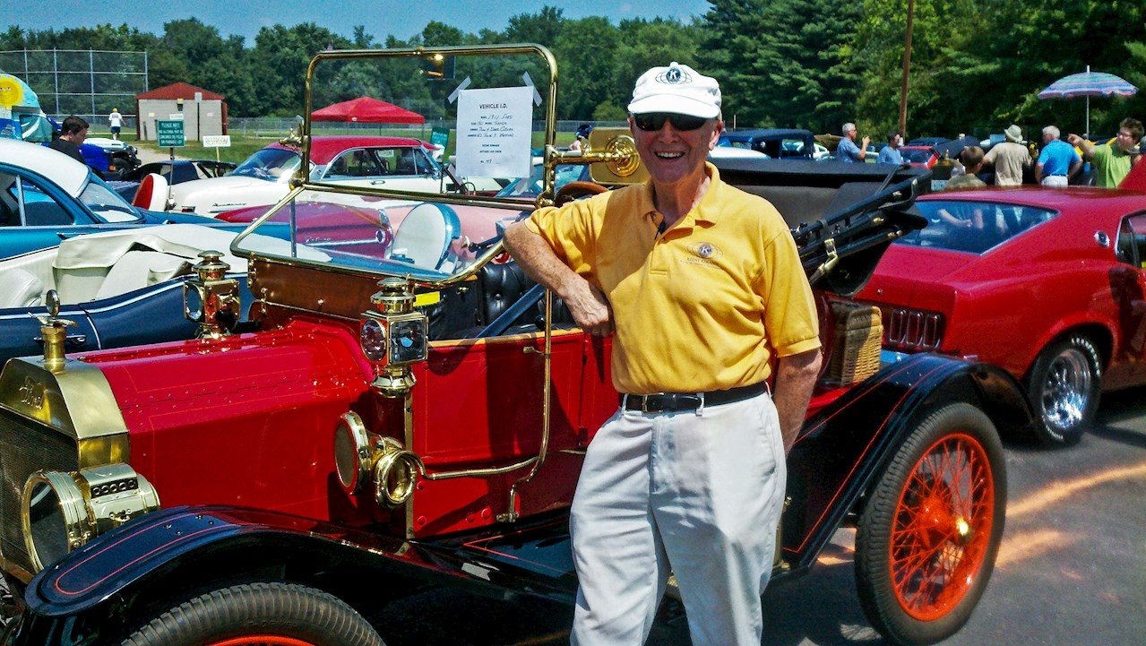 Paul Bothwell, long-time member of Keene Kiwanis