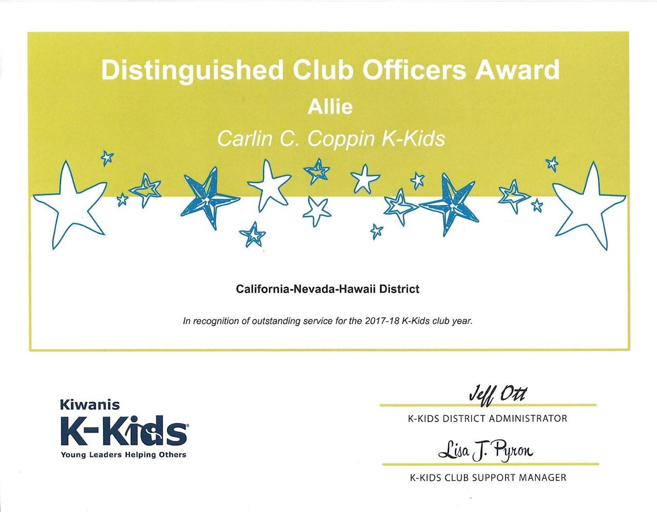 Kiwanis Club of Lincoln Foothills