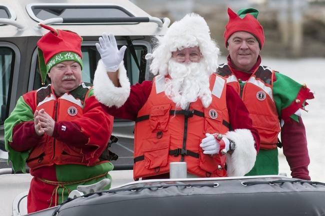 Marshfield Kiwanis Santa