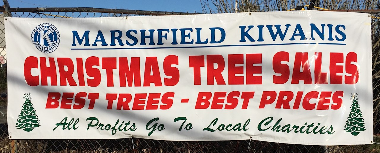 Marshfield Kiwanis Christmas Trees