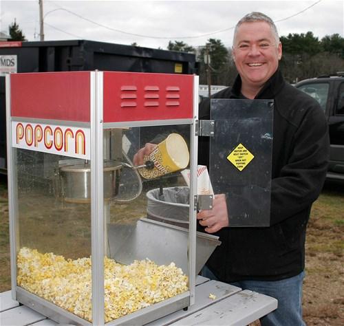 Free popcorn - marshfield kiwanis