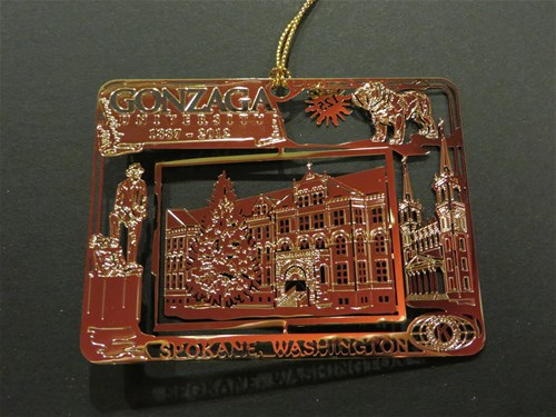 Gonzaga Ornament