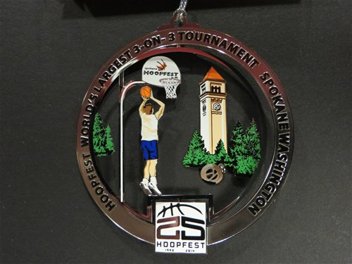 Hoopfest ornament