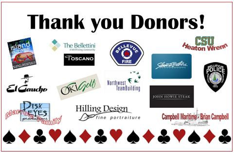 2017 Fall Casino Night Donors