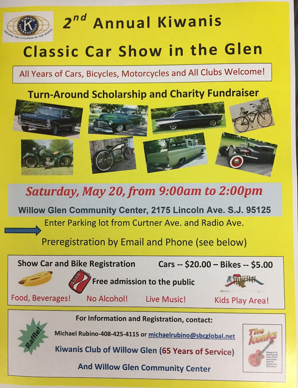 Willow Glen San Jose Kiwanis International - San jose international car show
