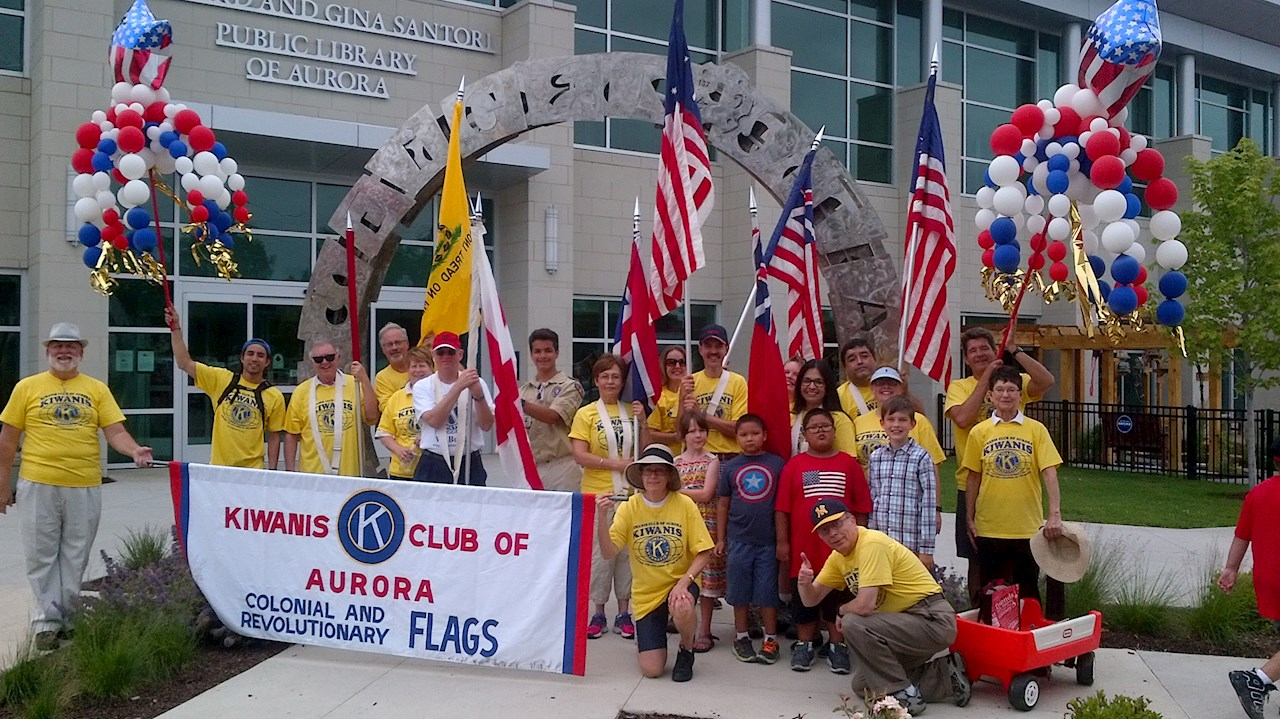 Kiwanis at the 2016 July Fourth Parade