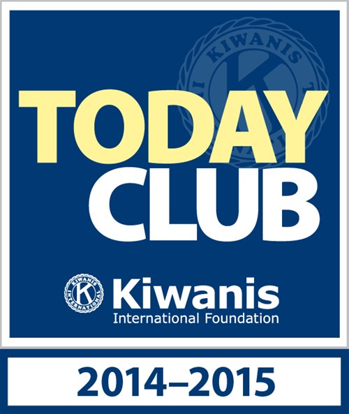 Kiwanis Today Club patch