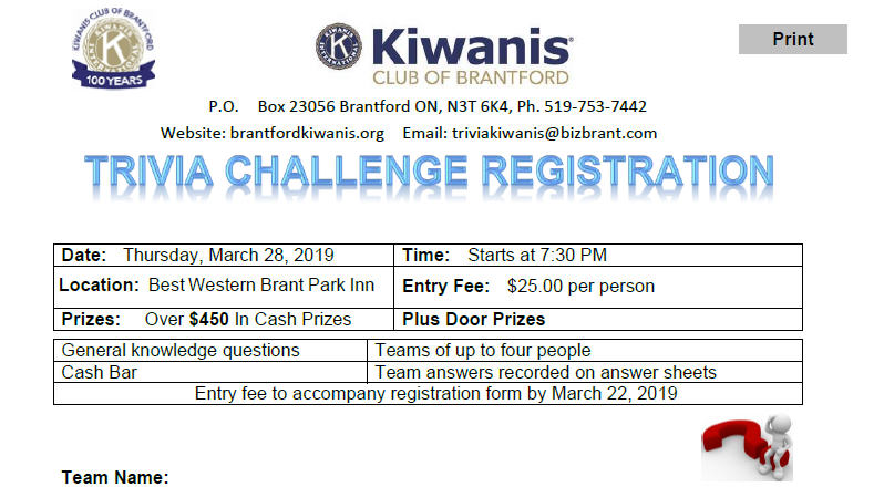 Brantford - Kiwanis International