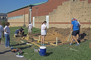 Chattanooga club building playground