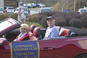 Copperhill Christmas parade