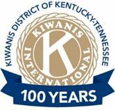 KT Kiwanis 100 logo