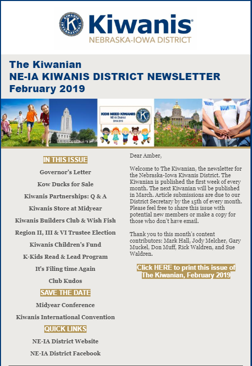 Nebraska-Iowa - Kiwanis International